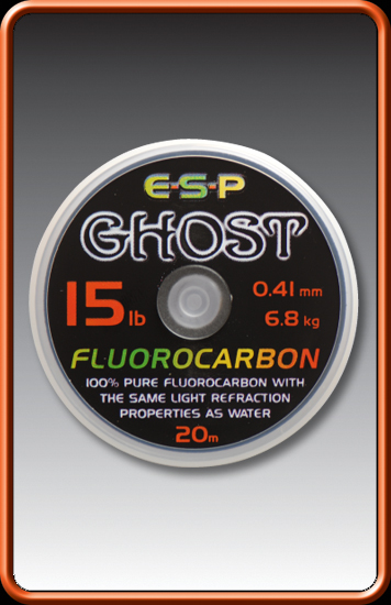 ESP Ghost fluorocarbono 18 lbs.