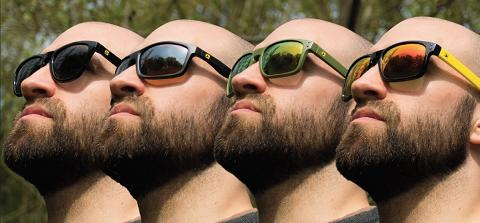 AVID CARP POLARISED SUNGLASSES - SAGE - GREEN REVO LENS