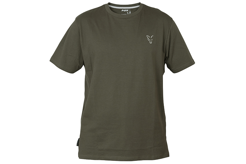 Fox Coll Green Silver T- Shirt SMALL