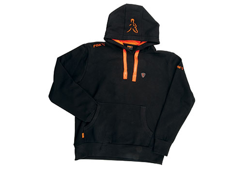 Sudadera FOX Black Orange xl Hoodie