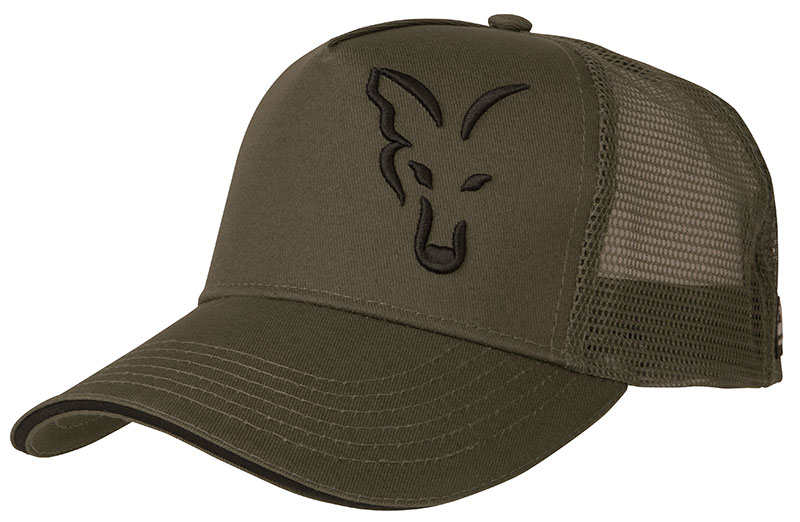 Gorra Fox green / black trucker
