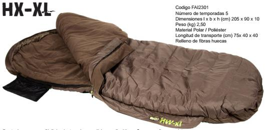 SACO FAITH HX-XL SLEEPINGBAG